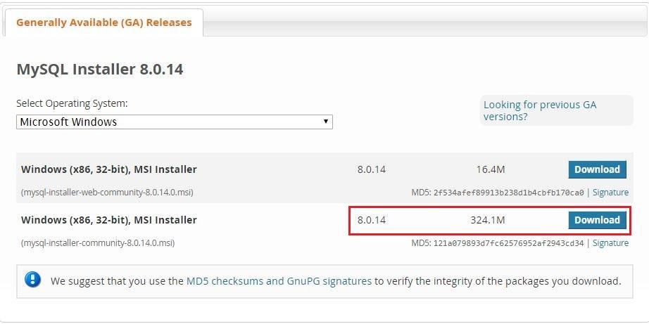 How to Install MySQL on Windows 10? (Version 8 0 14