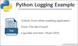 Read more about the article Python Logging Example