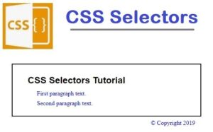 Read more about the article HTML5/CSS3: CSS Selectors