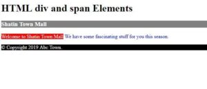 Read more about the article HTML: Structure The Content With div and span Elements