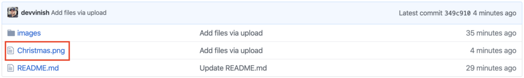 Repository contents.