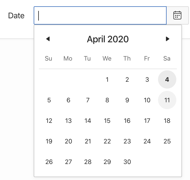 Oracle Apex: highlight a date.