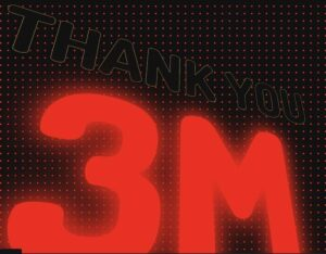 Read more about the article Thank You Message in HTML and CSS (Followers Achieved)